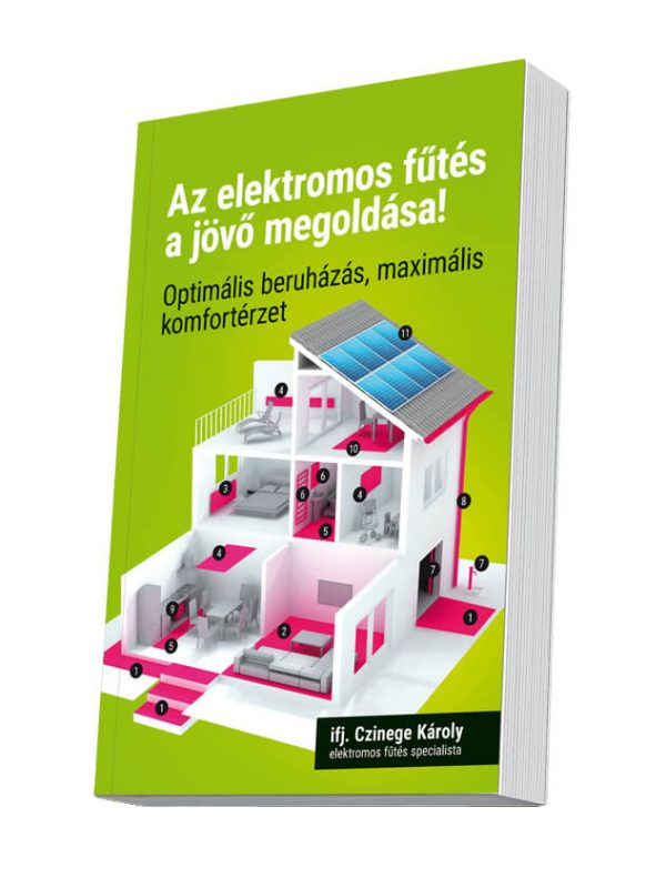 Czinege és fiai elektromos fűtés áruház - Elektromos fűtés könyv - Elektromos fűtés könyv
