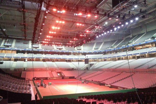 1406-Tansun-apollo-infrared-space-heaters-heating-indoor-tennis-stadium