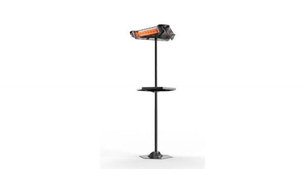 Czinege és fiai elektromos fűtés áruház - Infra hősugárzó - Infra hősugárzó állvány, háromirányú külön állítható sugárzóval GIROSOLE
