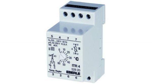 Czinege és fiai elektromos fűtés áruház - Termosztát - Hőmérséklet szab. ITR-4 (0+60 C°C-ig)