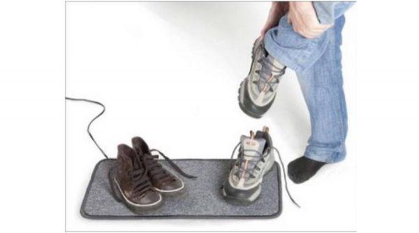 Czinege és fiai elektromos fűtés áruház - Fűthető szőnyeg - CzMaster cipőszárító szőnyeg ki-be kapcsolóval 40 W 30x100 cm (szürke)