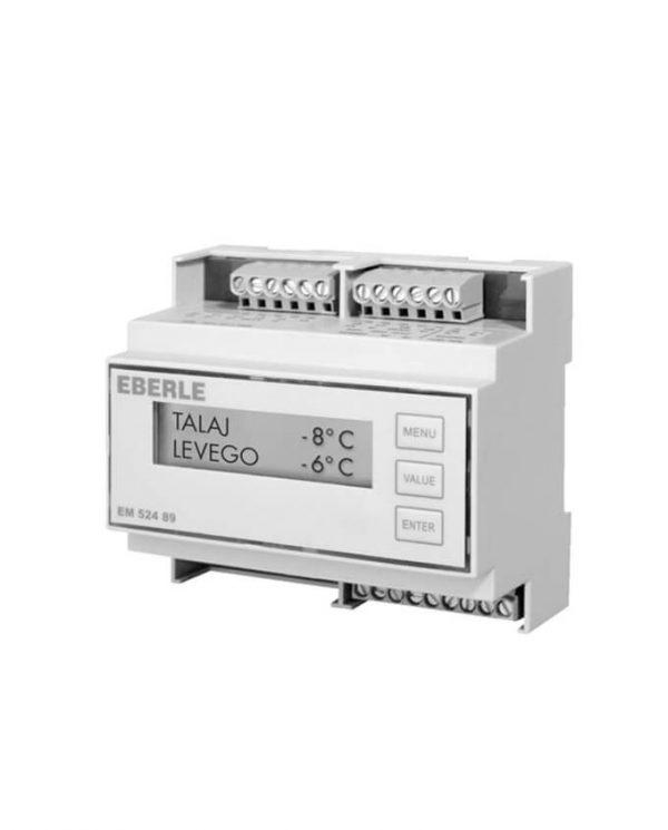 Czinege és fiai elektromos fűtés áruház - Termosztát - Hőmérséklet és jegesedésjelző vezérlés EM 52489
