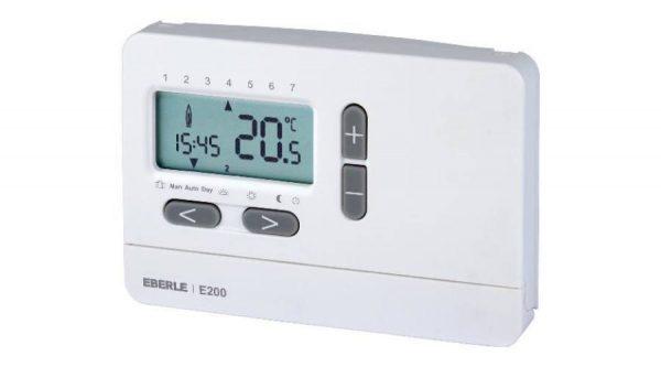 Czinege és fiai elektromos fűtés áruház - Termosztát - Hőmérséklet szab. digitális E200 HU