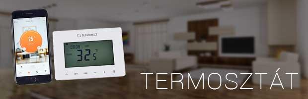 Czinege elektromos fűtés webáruház termosztát kategória