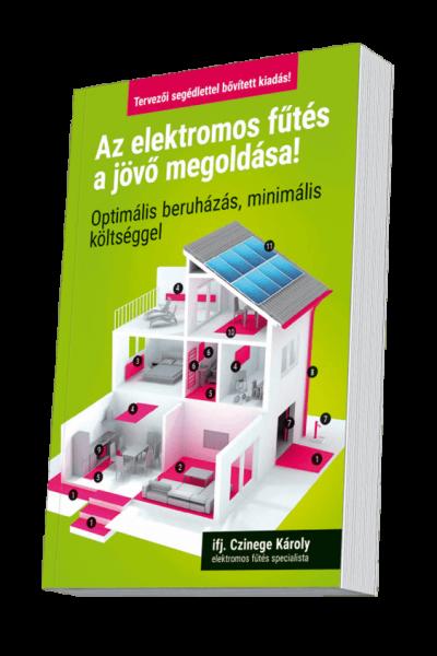 Infra- és fűtő panel, illetve elektromos fűtés megoldások szakáruháza - Czinege és Fiai Kft. Az elektromos fűtés a jövő megoldása könyv az elektromos fűtés specialista, szakembereknek és magánszemélyeknek, tervezői segédlettel, bővített kiadás, ifj. Czinege Károly