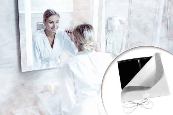 Czinege és fiai elektromos fűtés áruház - Tükörfűtés - Tükörfűtés 600 x 800 mm