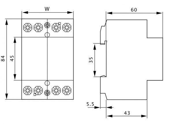 Czinege és fiai elektromos fűtés áruház - Elektromos kiegészítő - Tracon installációs kontaktor