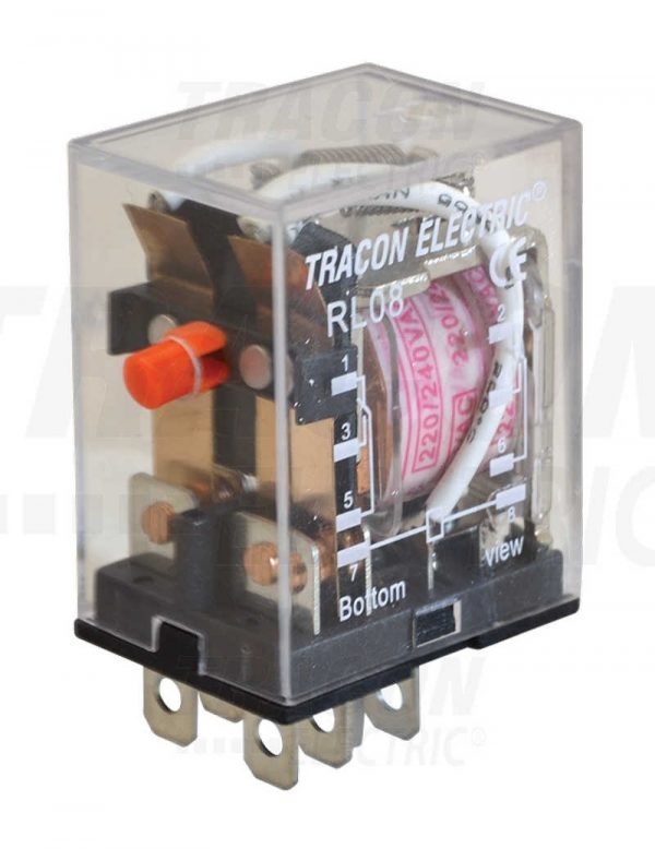 Czinege és fiai elektromos fűtés áruház - Elektromos kiegészítő - Tracon miniatűr teljesítmény relé